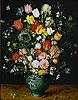 Flowers in a Blue Vase | Jan Bruegel the Elder