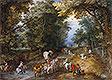 Busy Forest Track | Jan Bruegel the Elder