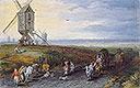 Windmills on a Broad Plain | Jan Bruegel the Elder