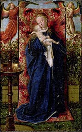 Madonna at the Fountain | Jan van Eyck | outdated