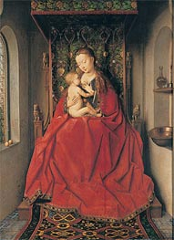 The Lucca-Madonna, Undated by Jan van Eyck | Painting Reproduction