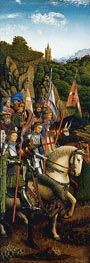 The Knights of Christ (The Ghent Altarpiece) | Jan van Eyck | Painting Reproduction