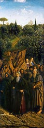 The Hermits (The Ghent Altarpiece) | Jan van Eyck | Painting Reproduction