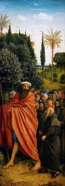 The Pilgrims (The Ghent Altarpiece) | Jan van Eyck | Painting Reproduction