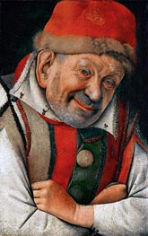 Gonella (The Court Dwarf of the Dukes of Ferrara), undated by Jan van Eyck | Painting Reproduction