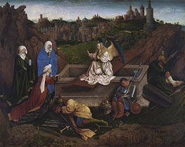 The Three Marys at the Tomb, c.1425/35 by Jan van Eyck | Painting Reproduction