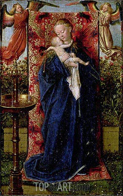 Madonna at the Fountain, 1439 | Jan van Eyck| Painting Reproduction