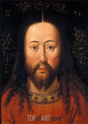 Christ,  | Jan van Eyck| Painting Reproduction