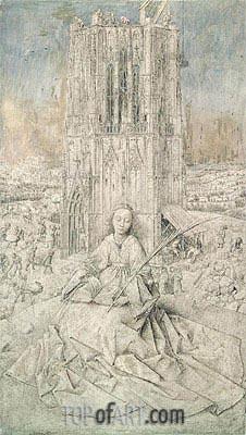 Jan van Eyck | St. Barbara, 1437