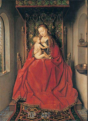 The Lucca-Madonna,  | Jan van Eyck| Painting Reproduction