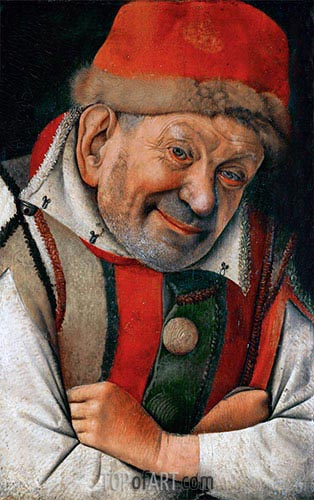 Gonella (The Court Dwarf of the Dukes of Ferrara), undated | Jan van Eyck | Gemälde Reproduktion