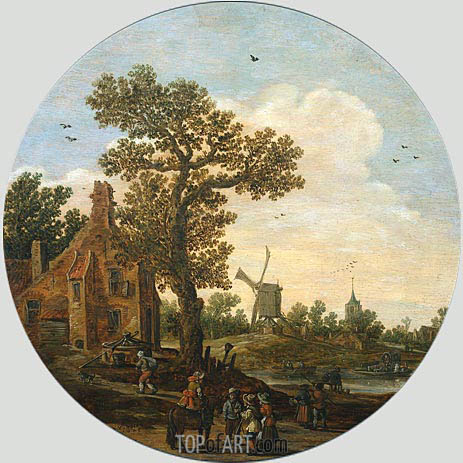Summer, 1625 | Jan van Goyen | Painting Reproduction