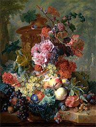 Fruit Piece | Jan van Huysum | Painting Reproduction