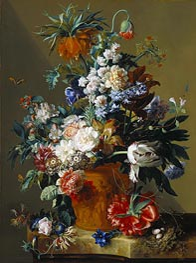 Vase of Flowers | Jan van Huysum | outdated