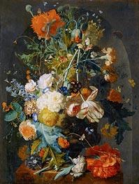 Vase of Flowers in a Niche | Jan van Huysum | veraltet
