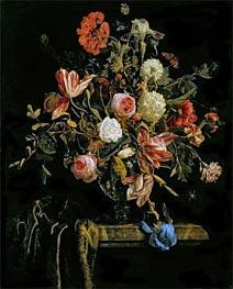 Flower Still Life, 1706 by Jan van Huysum | Painting Reproduction