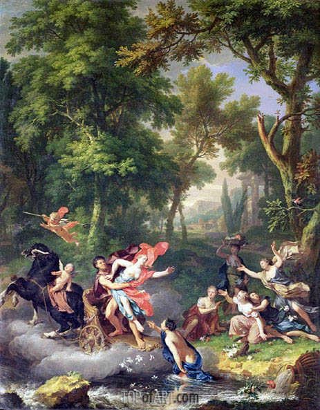 The Rape of Proserpine, undated | Jan van Huysum| Painting Reproduction