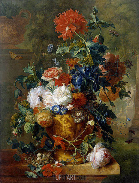 Jan van Huysum | Flowers, 1722