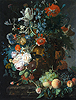 Still Life with Flowers and Fruit | Jan van Huysum