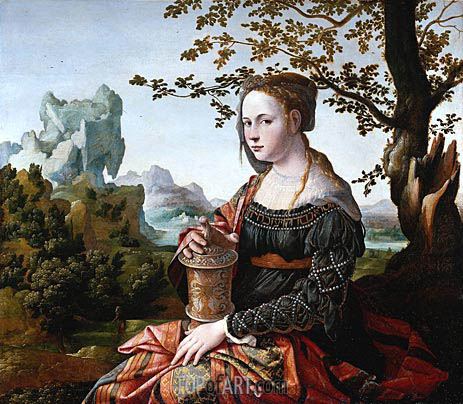 Mary Magdalene, c.1530 | Jan van Scorel | Painting Reproduction