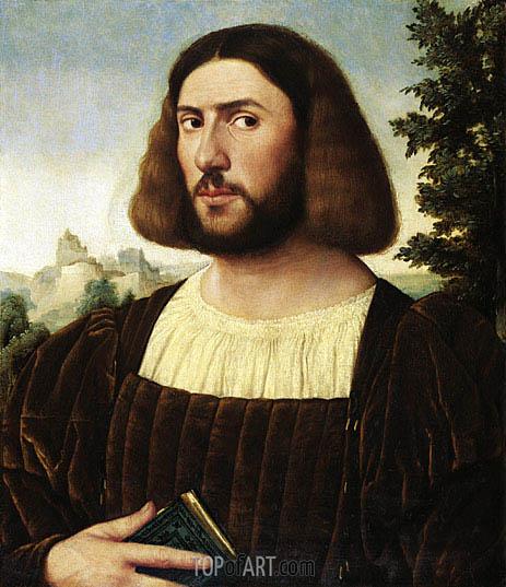 Jan van Scorel | Portrait of a Man, c.1520