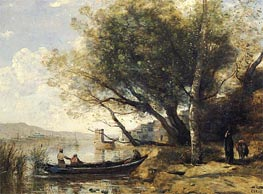 Smyrne-Bournabat, 1873 by Corot | Painting Reproduction