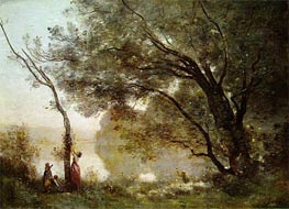 Souvenir of Mortefontaine | Corot | outdated