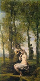 La Toilette (Landscape with Figures) | Corot | outdated