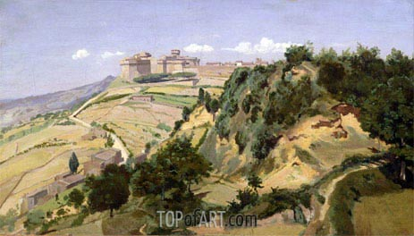 Volterra, 1834 | Corot | Painting Reproduction