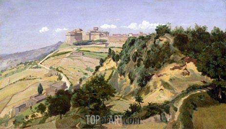Corot | Volterra, 1834