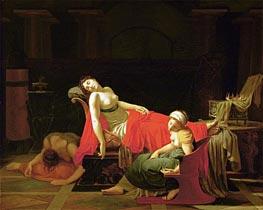 Der Tod der Kleopatra, c.1796/97 von Baron Jean Baptiste Regnault | Gemälde-Reproduktion