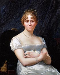 Portrait of Helene Viollet, undated by Baron Jean Baptiste Regnault | Painting Reproduction