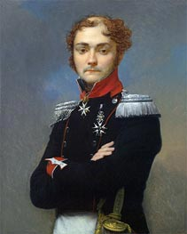 Portrait of an Officer from the Napoleonic Wars | Baron Jean Baptiste Regnault | outdated