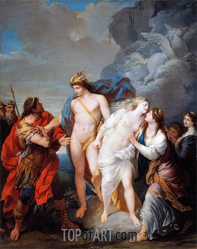 Return of Andromeda, 1782 | Baron Jean Baptiste Regnault | Painting Reproduction