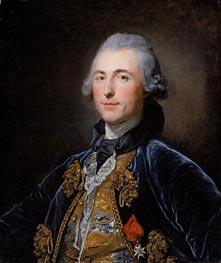 Portrait of Chevalier de Damery | Jean-Baptiste Greuze | outdated