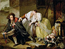Le Geste Napolitain, 1757 by Jean-Baptiste Greuze | Painting Reproduction