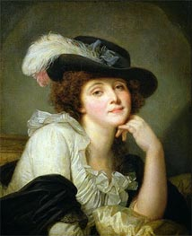 Portrait of Sophie Arnould, c.1786 by Jean-Baptiste Greuze | Painting Reproduction