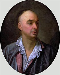 Portrait of Denis Diderot, undated by Jean-Baptiste Greuze | Painting Reproduction