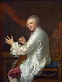 Ange-Laurent de Lalive de Jully, p.1759 by Jean-Baptiste Greuze | Painting Reproduction
