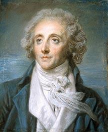 Portrait of Baptiste Aine, c.1790 by Jean-Baptiste Greuze | Painting Reproduction