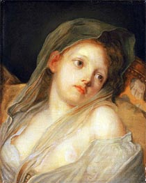 Innocence, undated by Jean-Baptiste Greuze | Painting Reproduction