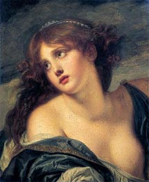 Psyche, 1786 by Jean-Baptiste Greuze | Painting Reproduction