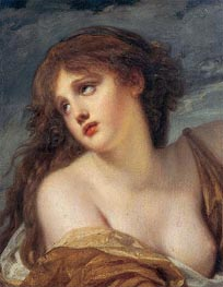 Psyche, c.1786 by Jean-Baptiste Greuze | Painting Reproduction