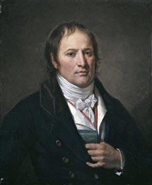 Portrait of Jean-Nicolas Billaud-Varenne, c.1790/93 by Jean-Baptiste Greuze | Painting Reproduction