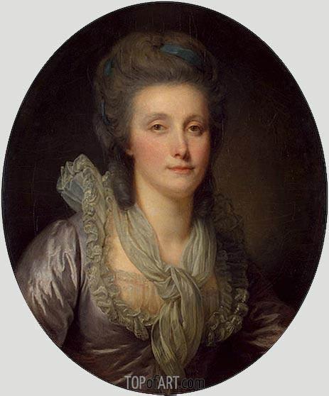 Jean-Baptiste Greuze | Portrait of Countess Ekaterina Shuvalova, c.1770/80