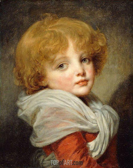 Young Boy, undated | Jean-Baptiste Greuze| Painting Reproduction