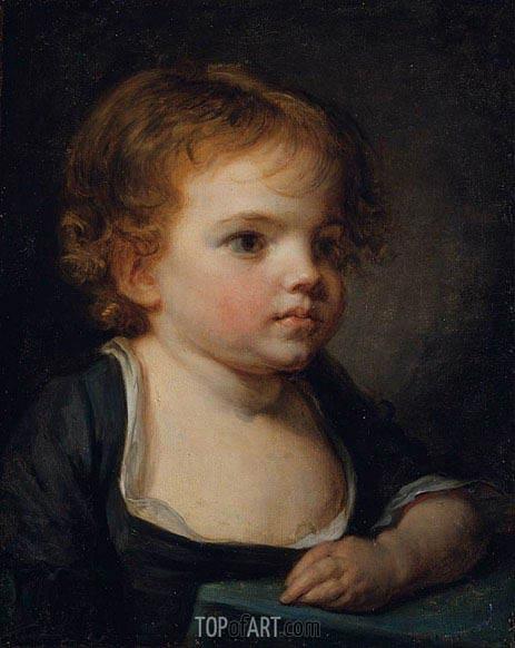 Jean-Baptiste Greuze | Portrait of a Child, undated