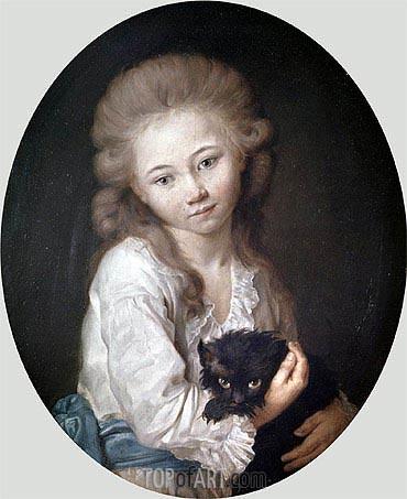 Jean-Baptiste Greuze | Esprit de Baculard d'Arnaud, 1776