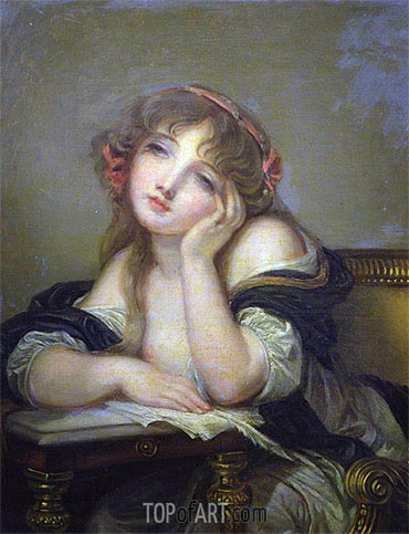 The Letter Writer, c.1800/06 | Jean-Baptiste Greuze| Painting Reproduction