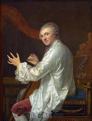 Jean-Baptiste Greuze | Ange-Laurent de Lalive de Jully, p.1759